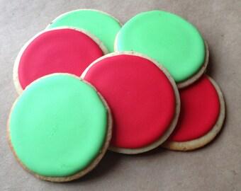 Gluten Free Iced Sugar Cookies