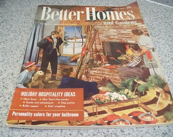 Better Homes and Gardens Magazine January 1957. Price Includes Shipping.