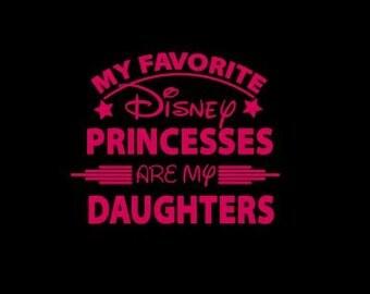 My favorite Disney Princess (or Princesses) is (are) my Daughter/granddaughter/niece