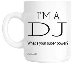 DJ Funny Gift Mug shan363
