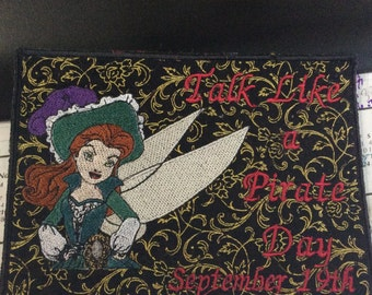 Talk Like a Pirate Day Mug Rug