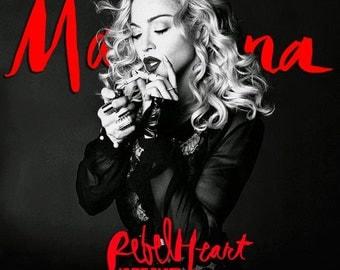 Madonna # 14  8 x 10 - T Shirt Iron On Transfer