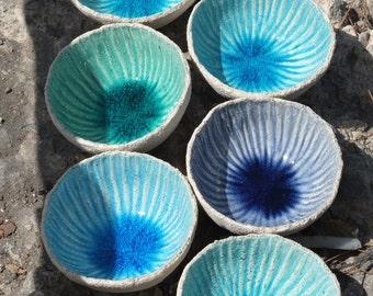 Sea Breeze Bowl medium size, Ceramic Bowl, Home & Living, Handmade Bowl