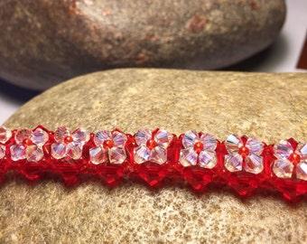 Swarovki Beaded Bracelet