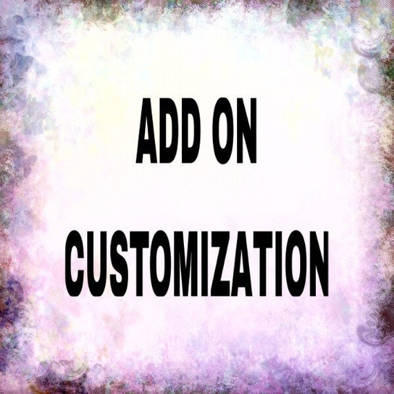 ADD ON - Customize your inserts & dividers