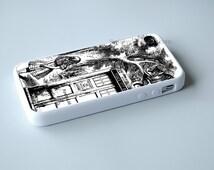 alice in tardis dr Who iPhone SE 6s Plus 5s 5c 4s 6 Plus case, iPod 4 5 6 case, Samsung S7 s6 s5 s4 s3 Cases, Htc,LG,Nexus,Xperia Cases