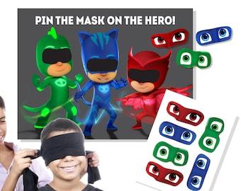 PJ Masks Birthday - PJ Masks Party - PJ Masks Game