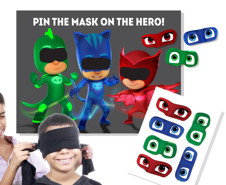 PJ Masks Birthday PJ Masks Party PJ Masks Game
