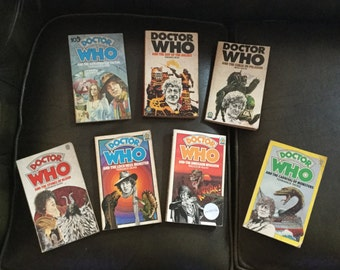 Seven Doctor who books