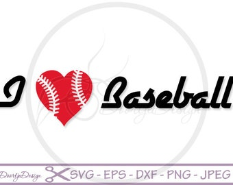I love Baseball sayints SVG files sayings, quote cutting files quote clipart, silhouette quote, svg quotes, SVG files for cricut
