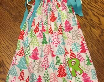 Custom Girls Pillowcase dress sizes 6 months to 8