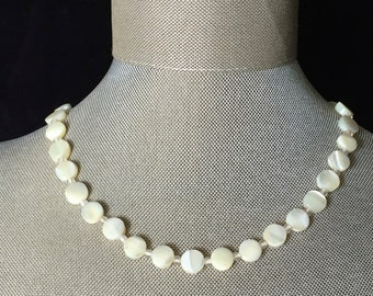 Vintage Mother-of-Pearl Choker