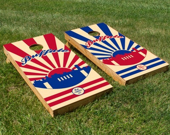 Buffalo Bills Cornhole Board Set with Bean Bags