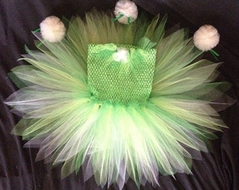 Reversable Tinkerbell costume and spring dress
