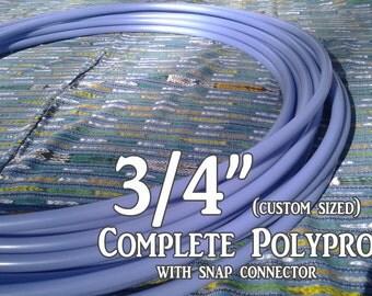 Periwinkle Polypro Hula Hoop