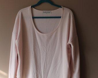 Soft Ballet Pink Long-sleeve Top