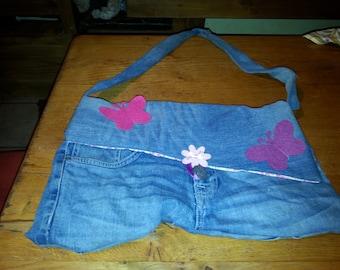 double jeans bag