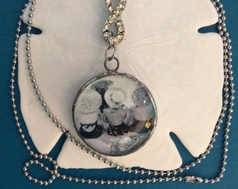 Beach Dwellers soldered pendant necklace