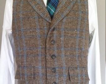 Wool Tweed Waistcoat