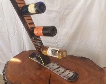 Three Bottle Wine Rack