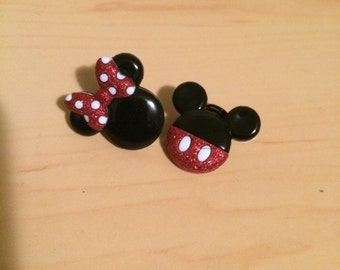 Mickey & Minnie Dreadlock/Braid jewelry