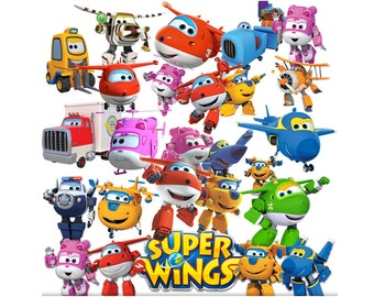 Super Wings 25 images clipart