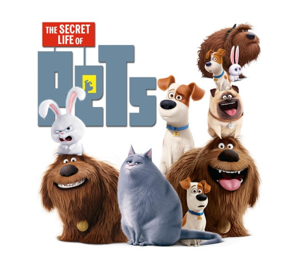 the secret life of pets movie 2016 clipart by foxartcards