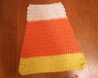 Candy Corn Hot Pads
