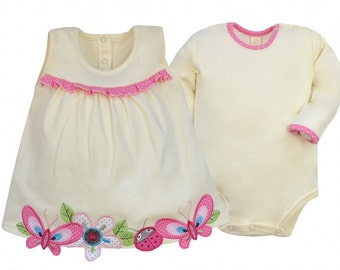 Rompers set for girls size 68