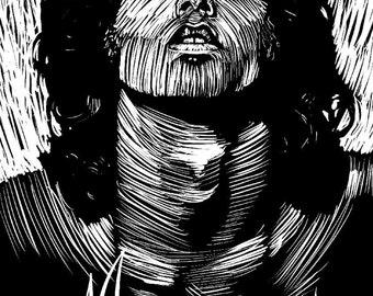 Jim Morrison -- Limited Edition Print