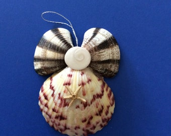 Seashell Angel Ornament