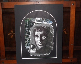 Barnabas Collins In The Woods- original drawing