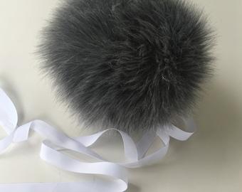 Gray Bunny Tail