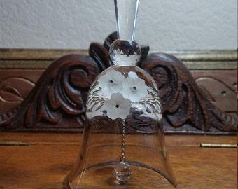 Vintage Swarovski Crystal Bell