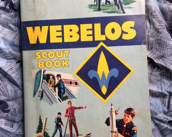 1969 Printing of Webelos Boy Scout Book