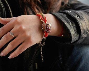 Gems & Beads Venetian Bracelet