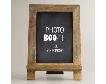 Halloween Photo Booth Sign