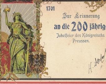 Jubelfeier Konigsreischs Preussen 1901