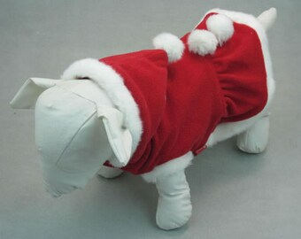 Red Christmas Dog Suit