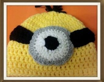 Minion Beanie (Baby - Toddler)