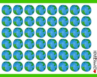 Earth Day stickers, planners, calendar (503)