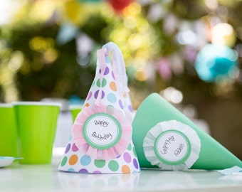 Party Hat Printable - Birthday Hat - PDF- Direct Download Printable for any party