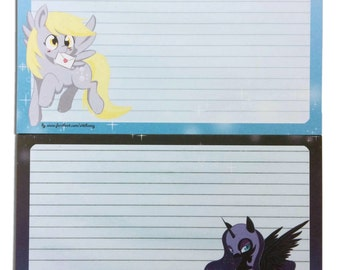 "My Little Pony ""Luna & Derpy"" Notepads"