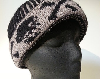 Brioche Watchcap/ Slouchy or Cloche Knitting Pattern