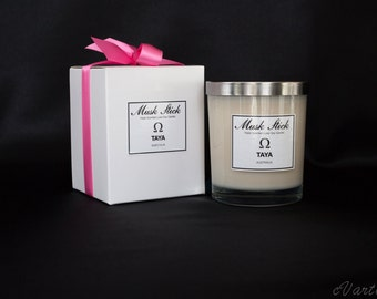 TRIPLE Scented Luxe Soy Wax Candle - Musk Stick