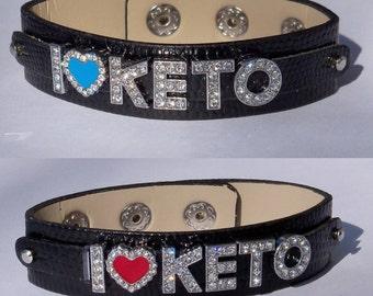 Pruvit, Ketones inspired Rhinestone Bracelets, Jewlery