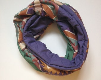 Infinity Scarf Aztec Pattern