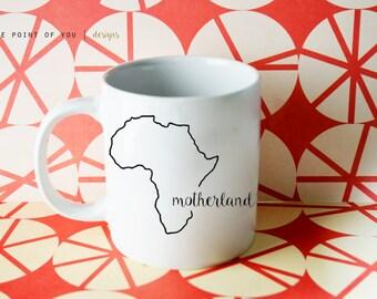 DIY: Africa Motherland Decal