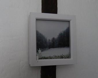 Little People in a Snowy Landscape