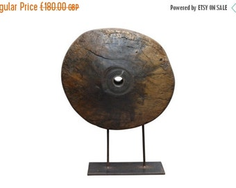 Shop Sale Mandalay Period Ox Cartwheel on Stand